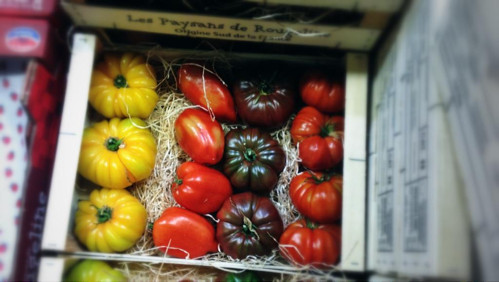 Tomaten gemischt aus Frankreich, Gitter 3.5kg