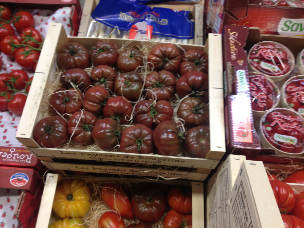 Neu im Sortiment: Tomaten Noire de Crimé, aus Südfrankreich, Gitter 3.5kg