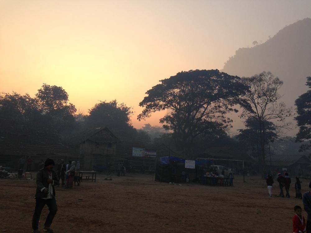 Nieuwjaar wordt hier in de ochtend gevierd. Dus op tijd je bed uit om de zon op te zien komen.