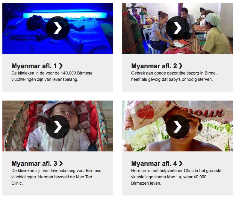 Bekijk de afleveringen die EO Metterdaad maakte over de projecten van Stichting MalariaDokters in Myanmar en Thailand.