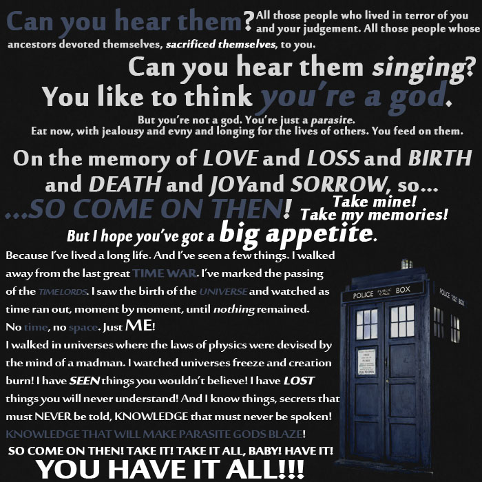 Doctor Who Quotes About Love Glamorous I ♥ Doctor Who Quotes 1  Brianwschneider