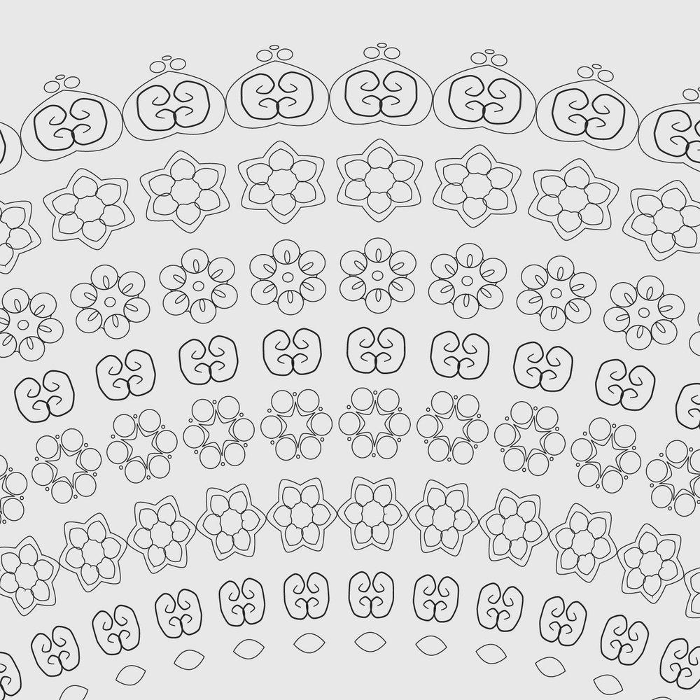 Intricate Ketubah detail 1