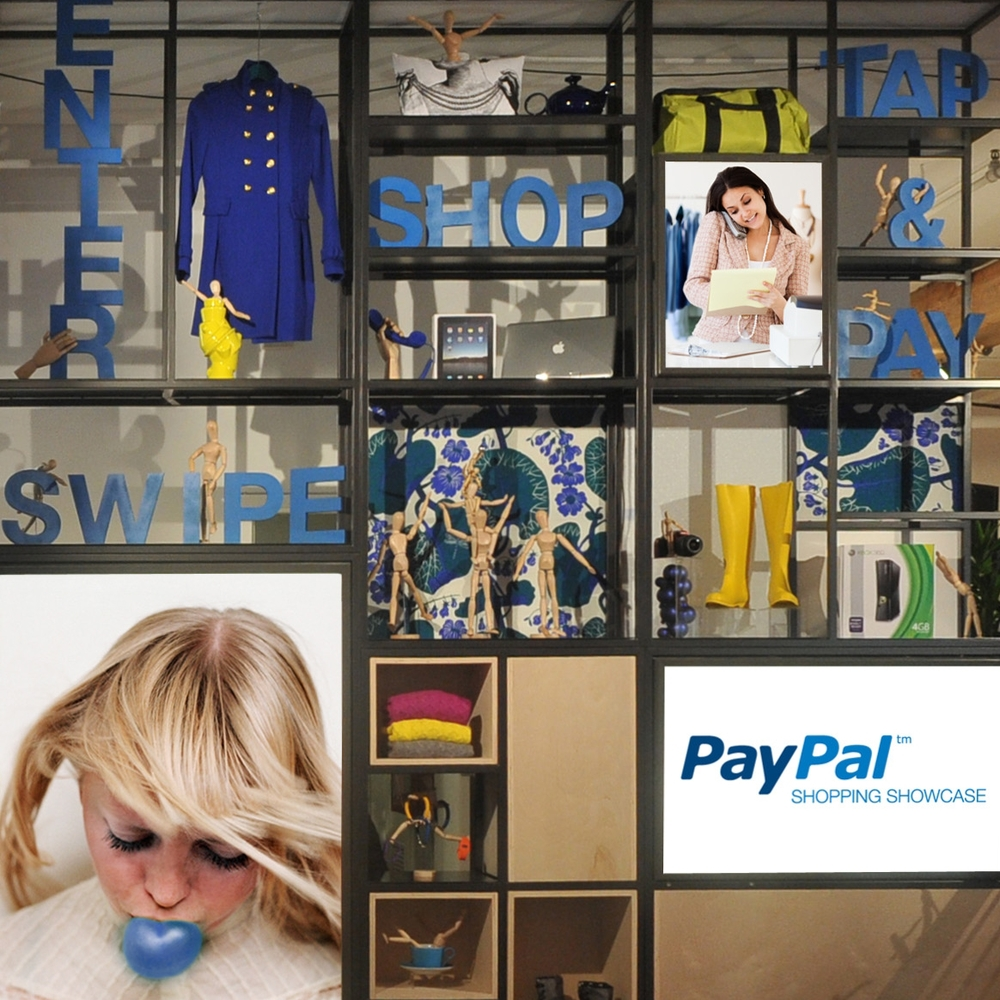 PayPal: Shopping Showcase