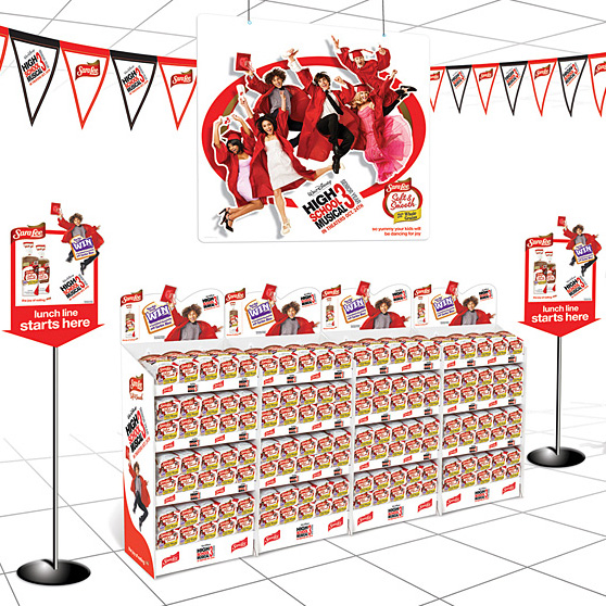 Sara Lee: H.S. Musical 3 Displays