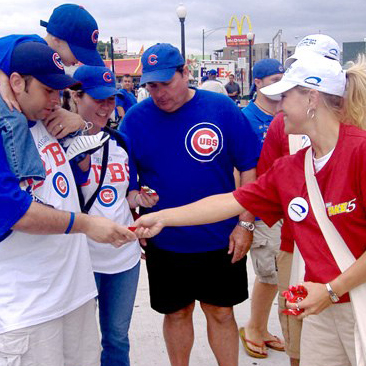Chicago Cubs: Mega-Sampling Events