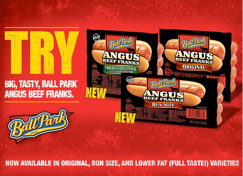 Ball Park Angus: POS Poster