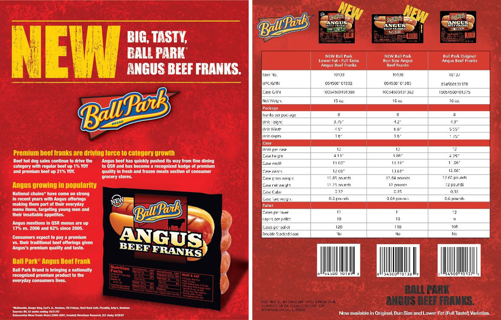 Ball Park Angus: Sell Sheet V2
