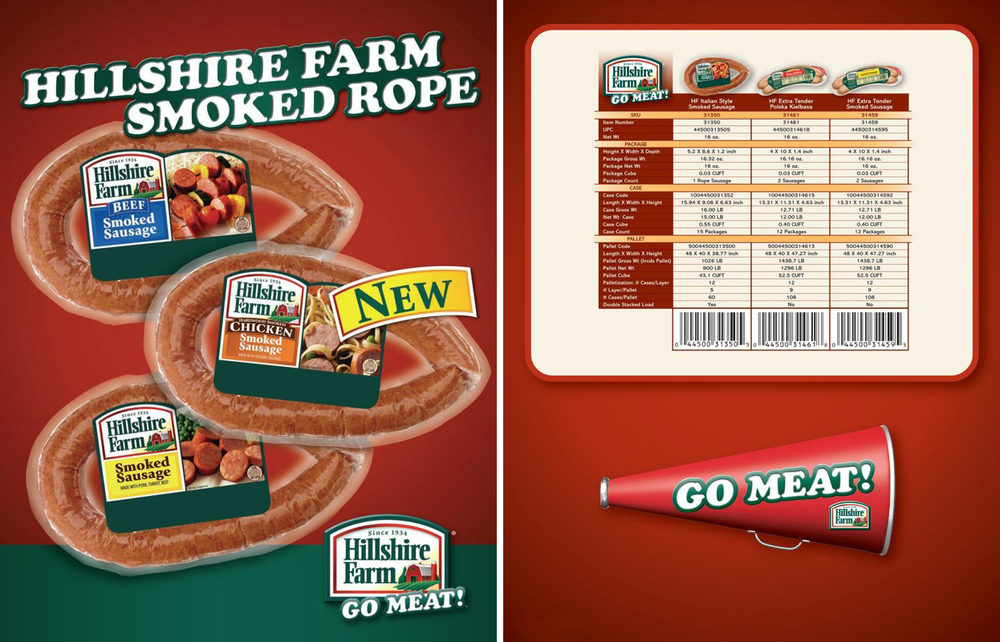 Hillshire Farm: Smoked Rope Spec Sheet