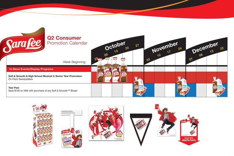 Sara Lee: Q2 Consumer Promotion Calendar