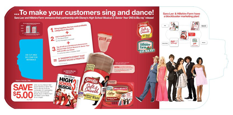 Sara Lee: HSM 3 Promotion – Brochure Inside