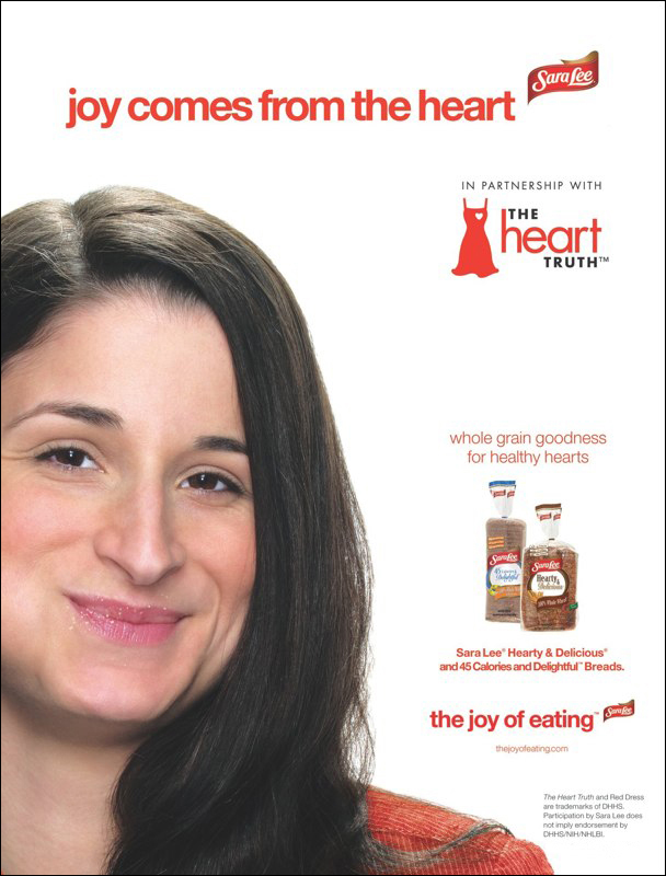 Sara Lee: The Heart Truth – Print Ad