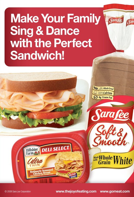 Sara Lee / Hillshire Farm: Perfect Sandwich – Print Ad