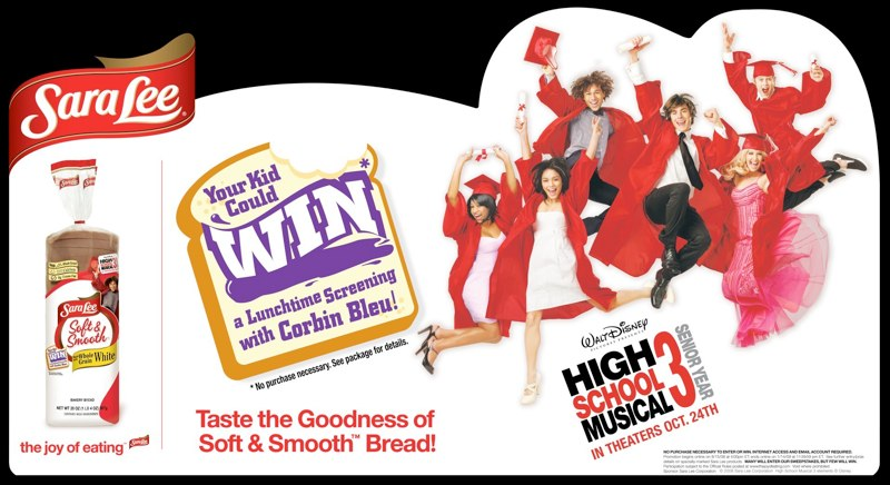 Sara Lee: HSM3 Promotion – Header Card