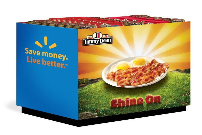 Jimmy Dean: Walmart Cooler