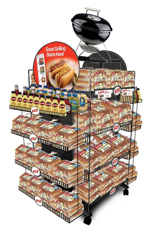 Ball Park/ Hillshire Farm / Sara Lee: Grilling Center Display