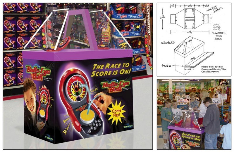 Hasbro: Bulls-Eye Ball – Gaming Table