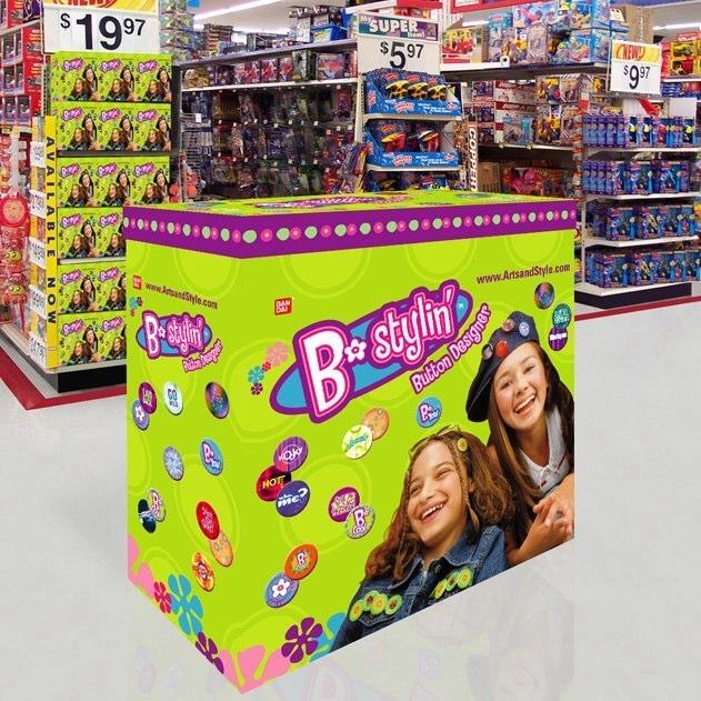 Bandai: B•Stylin' Activity Center Display