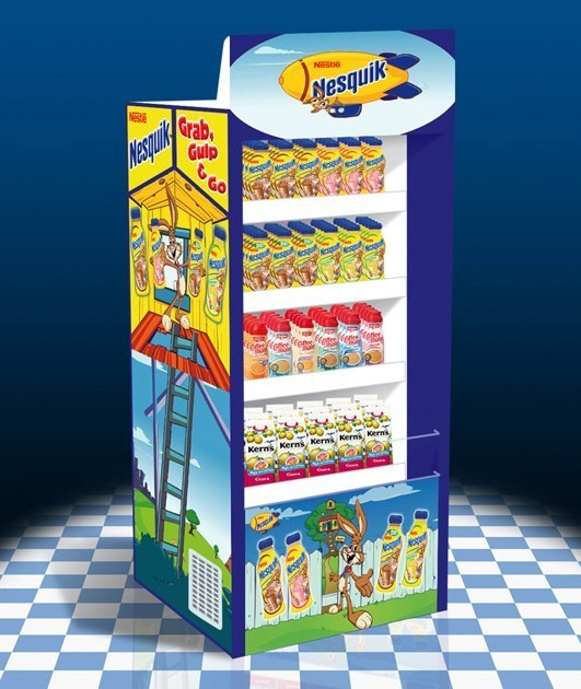 Nestlé Nesquik: Refigerated Display