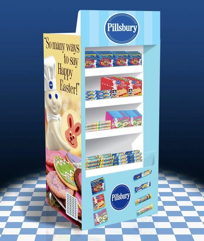 Pillsbury: Refrigerated Display