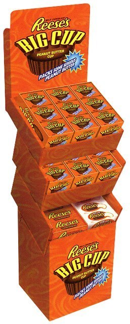 Reese's: Shipper Display