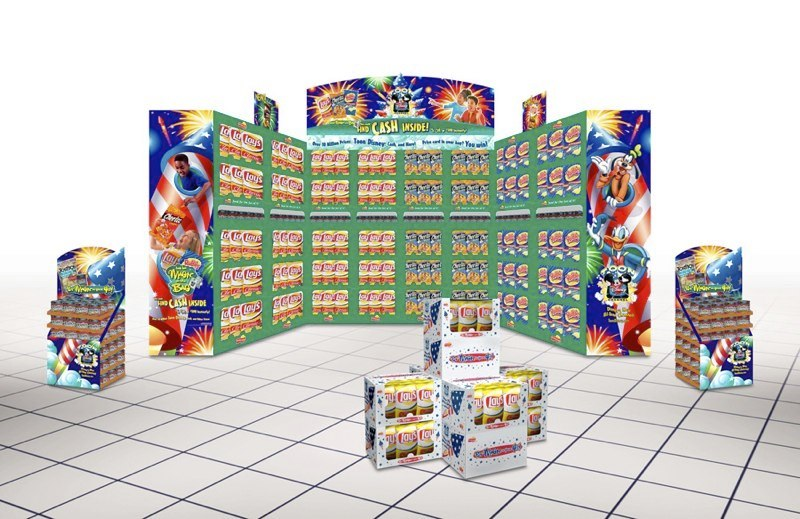 Frito-Lay: Magic in the Bag – SuperLobby Display