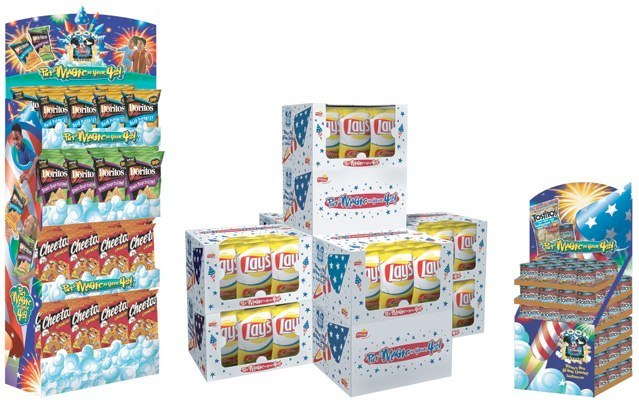 Frito-Lay: Magic in the Bag – Perimeter Displays