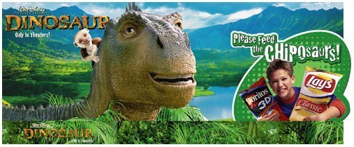 Frito-Lay: Disney Dinosaur – Header Card