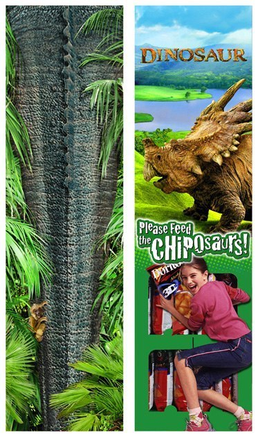 Frito-Lay: Disney Dinosaur – Side Panels