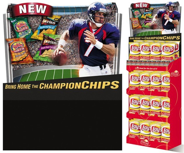 Frito-Lay: ChampionChips – Shipper Display
