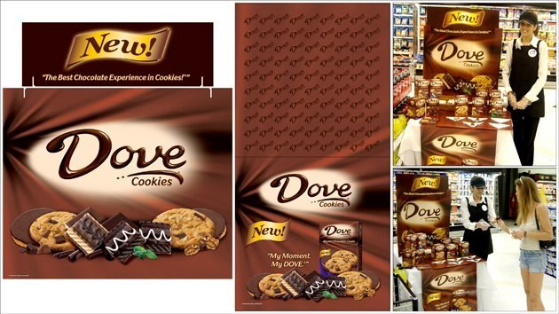 Dove Cookies: Tri-Fold & Table Runner