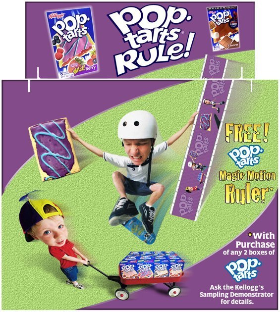 Kellogg's Pop•Tarts: Tri-Fold Display