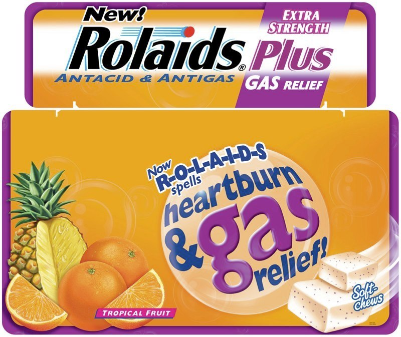 Rolaids: Tri-Fold Display