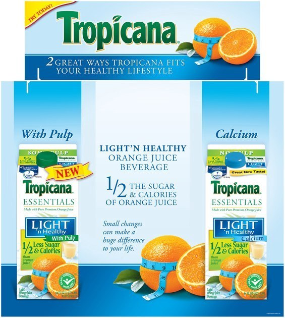 Tropicana: Tri-Fold Display
