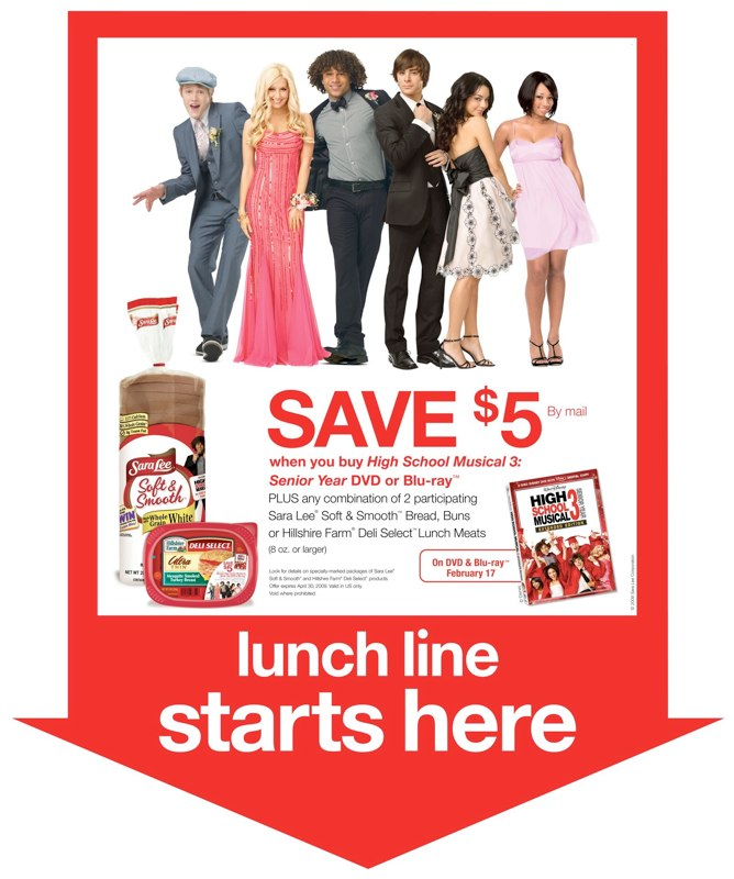 Sara Lee: HSM3 Promotion – Pole Sign