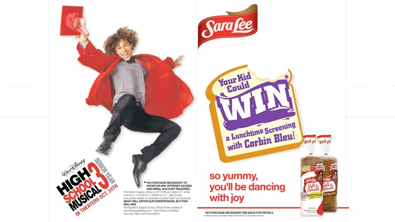 Sara Lee: HSM3 Promotion – Shelf Divider