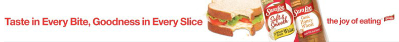 Sara Lee: Shelf Strip