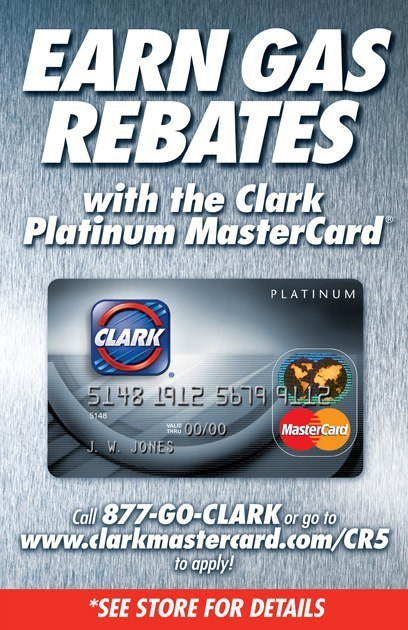 Clark / Mastercard: Entry Door Cling