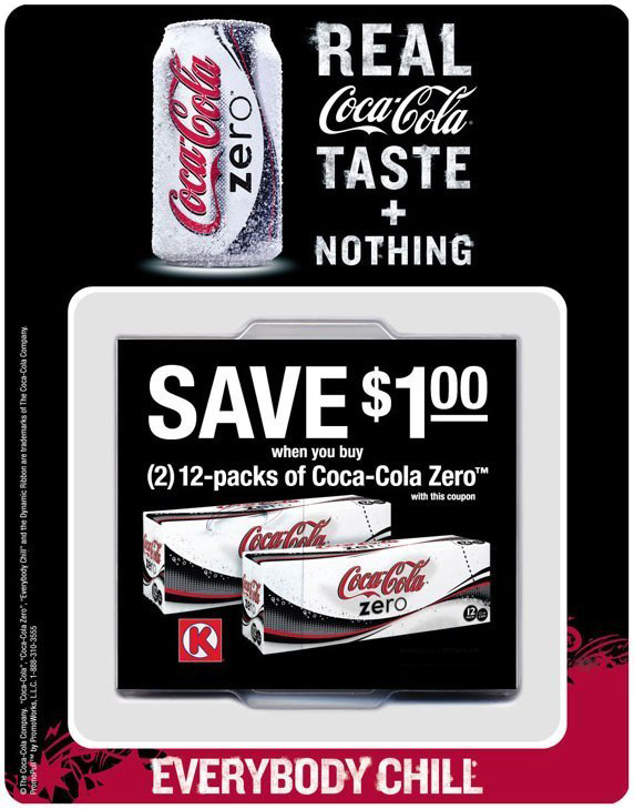 Coke Zero: Offer Dispenser