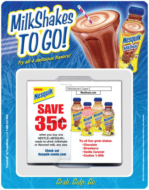 Nestlé Nesquik: Offer Dispenser