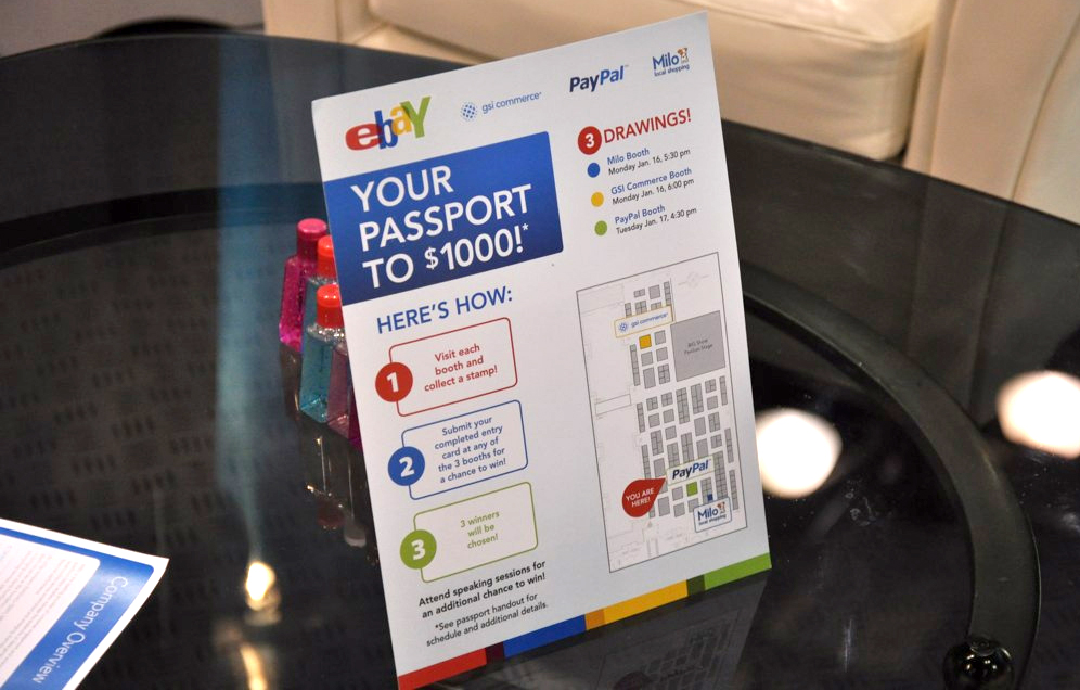 PayPaI: National Retail Federation Expo – Passport Sign