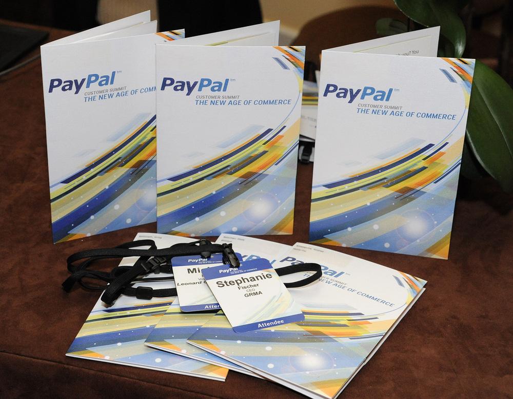 PayPal: Customer Summit – Registration Materials