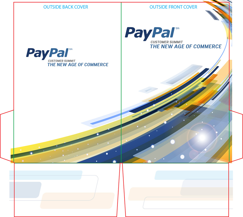 PayPal: Customer Summit – Pocket Folder