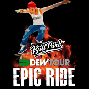 Ball Park Brand: Dew Tour Mobile App