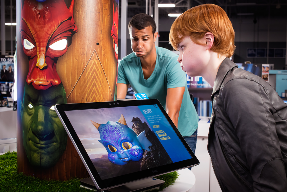 A New You:   Go ahead and make faces. With real-time facial tracking and recognition, your avatar responds to your every expression. Intel® RealSense™ technology gives you more immersive, interactive, realistic and personal ways to experience technology