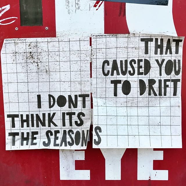 Thoughtful & disturbing work by @temporaryfuckup . . #temporaryfuckup #wheatpaste #poster #sticker #art #stickerart #streetart #oldtown #chicago #streetarteverywhere #streetartphotography #streetartistry #streetartchicago #chicagostreetart #seasons #love #ambassadorofgoodcheer #aogc