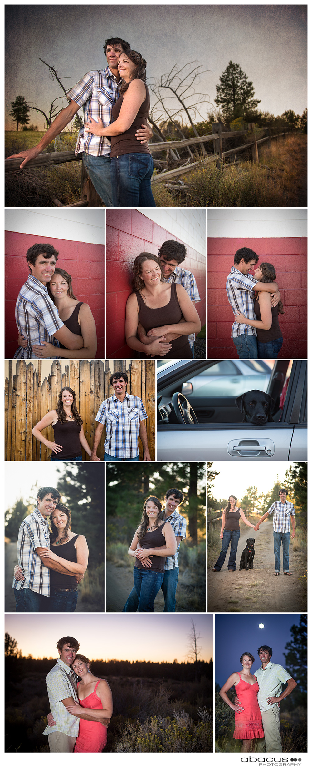 A fun outdoor summer engagement photo session here in Bend, Oregon!