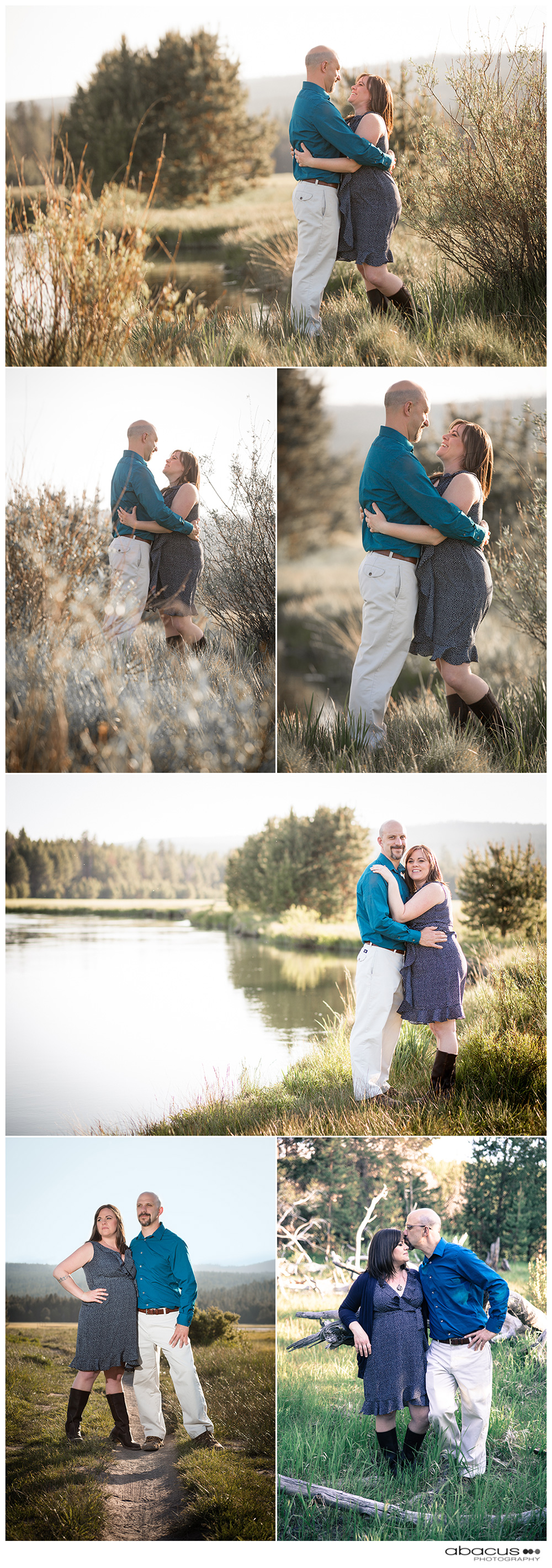 CENTRAL OREGON WEDDING PHOTOGRAPHY ENGAGEMENT SESSION