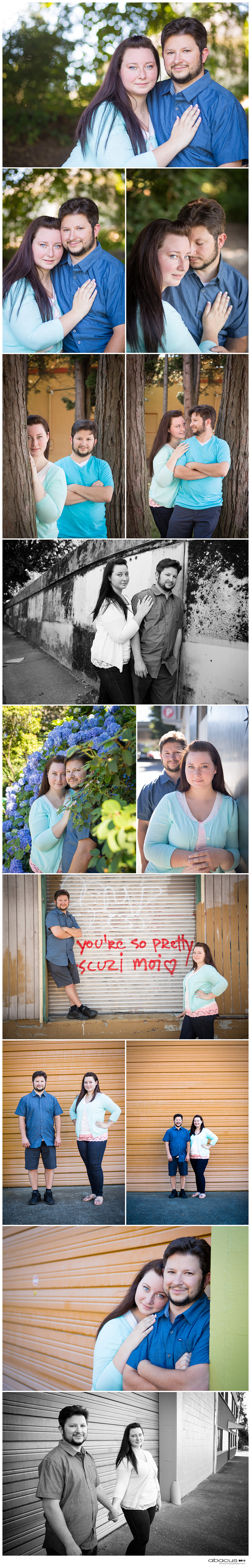 PORTLAND ENGAGEMENT PHOTOGRAPHY BY BEND OREGON WEDDING PHOTOGRAPHER