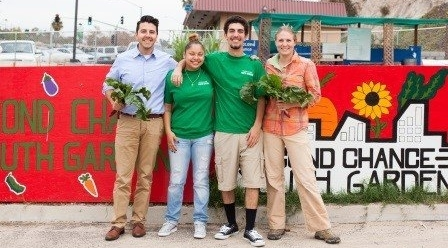 Second Chance Youth Garden Program