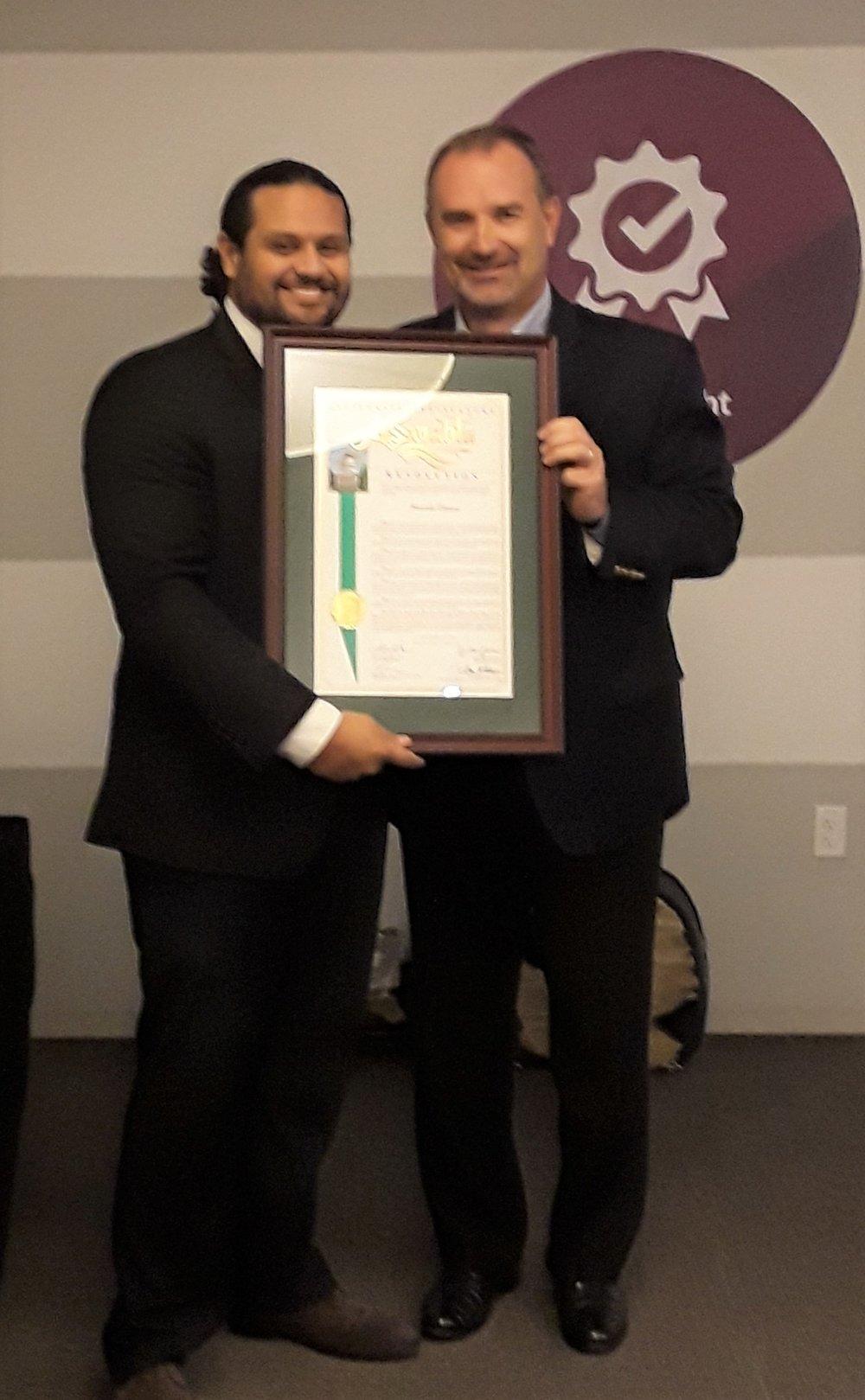 Robert and Lee Hernandez resolution presentation.jpg